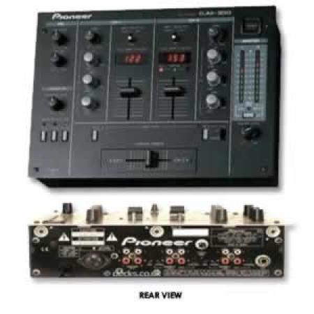 pioneer djm-300   black