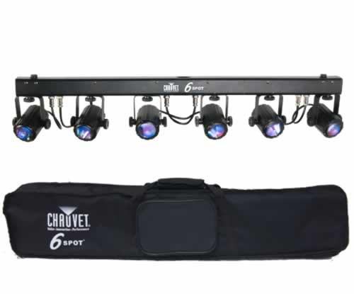 Chauvet DJ 6SPOT Complete Portable LED Spot Lighting Package New  sc 1 st  Planet DJ & Lighting Packages u2022 Planet DJ azcodes.com