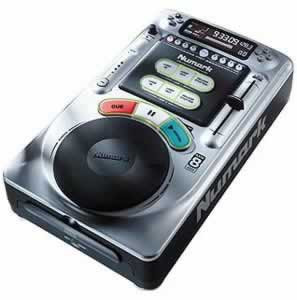 Numark AXIS 8 Tabletop CD Player, New