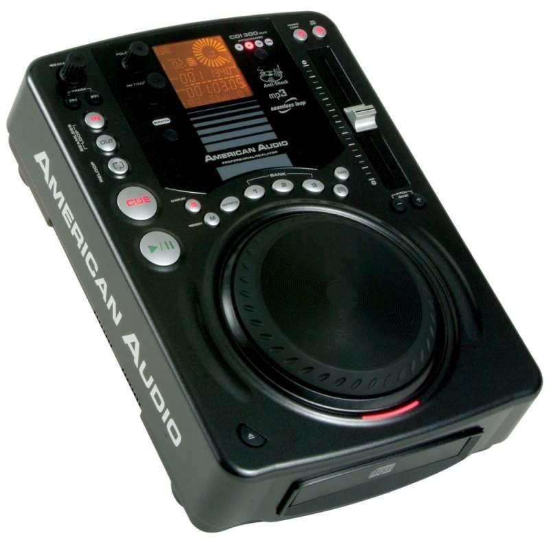 american audio cdi 300mp3 dj tabletop cd mp3 player open box planet dj. Black Bedroom Furniture Sets. Home Design Ideas