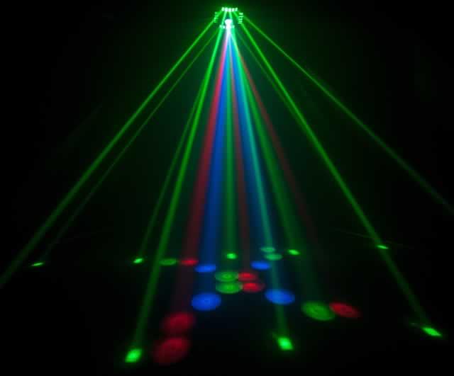 Chauvet dj cubix multicolored led centerpiece effect light