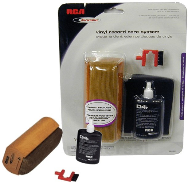 Rca Discwasher D4 Vinyl Record Care Cleaning System