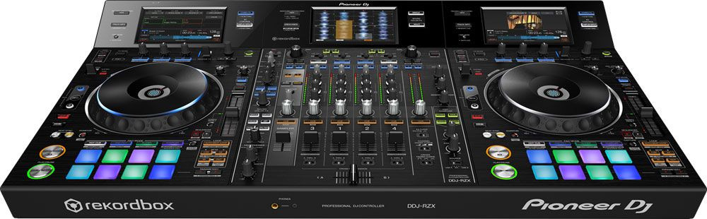 Pioneer DDJ-RZX Professional 4-Channel DJ Audio and Video Controller