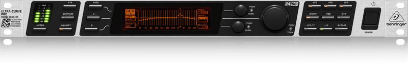 Behringer DEQ2496 ULTRACURVE PRO 24-Bit/96kHz Equalizer, New
