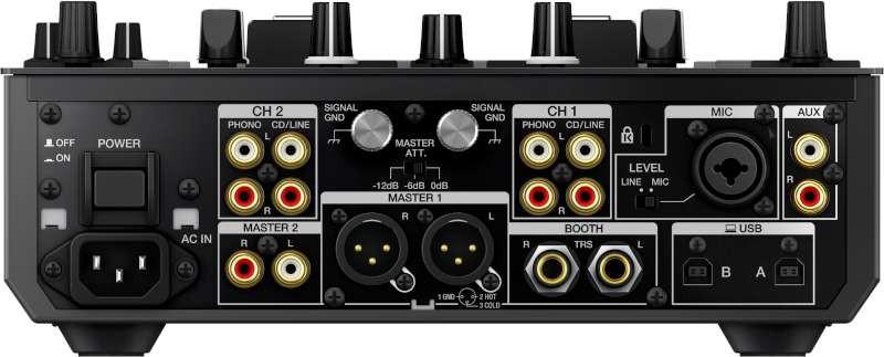 Pioneer DJM-S9 2-Channel Battle Mixer for Serato DJ, Black