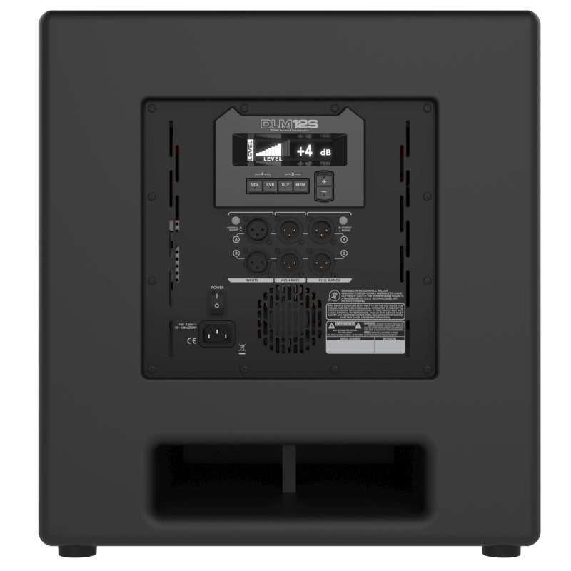 mackie dlm12s 12 active powered subwoofer planet dj. Black Bedroom Furniture Sets. Home Design Ideas