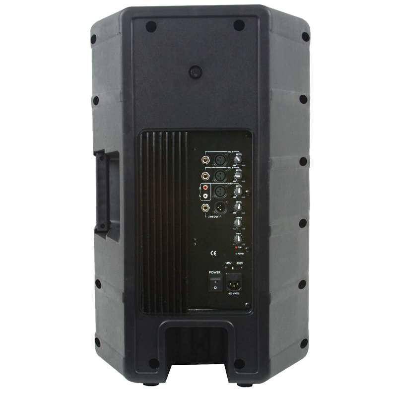 american audio dls15p powered speaker new planet dj. Black Bedroom Furniture Sets. Home Design Ideas