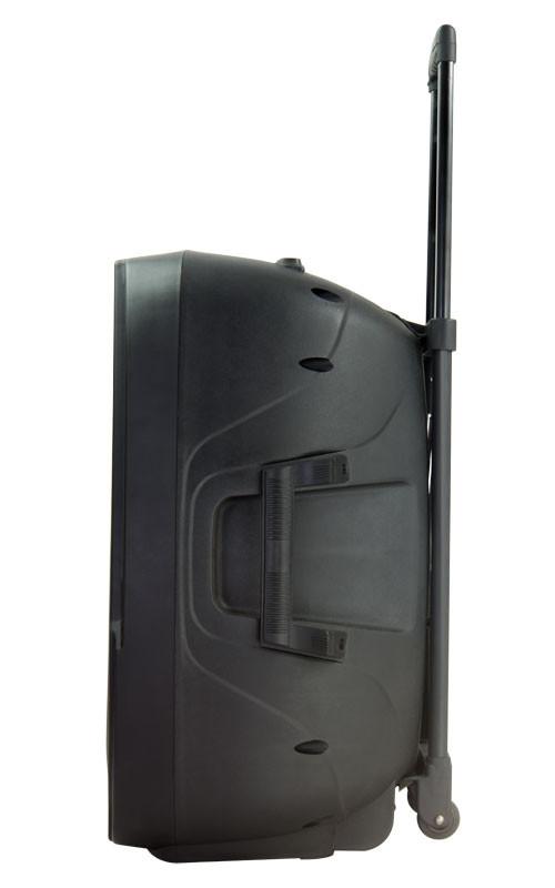 gemini es 12togo 12 39 39 battery powered speaker w 2 wireless microphones planet dj. Black Bedroom Furniture Sets. Home Design Ideas
