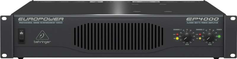 Behringer EP4000 Stereo Power Amplifier on behringer power amps, behringer ep1500, behringer amplifiers product, behringer 4000 amp,