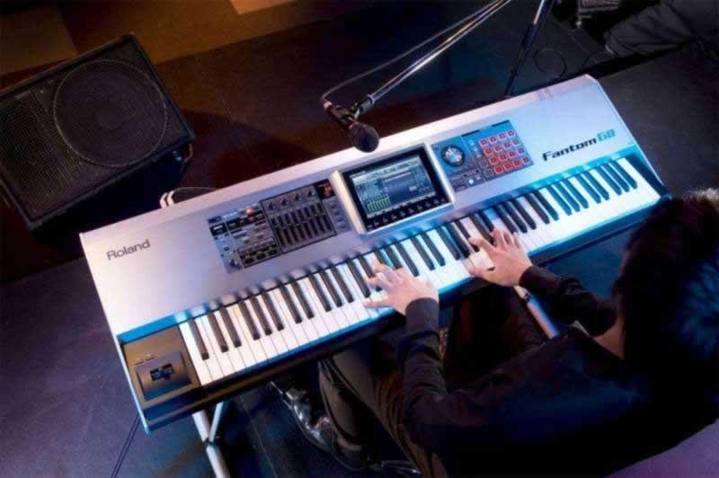 roland fantom g8 88 key workstation keyboard new planet dj. Black Bedroom Furniture Sets. Home Design Ideas