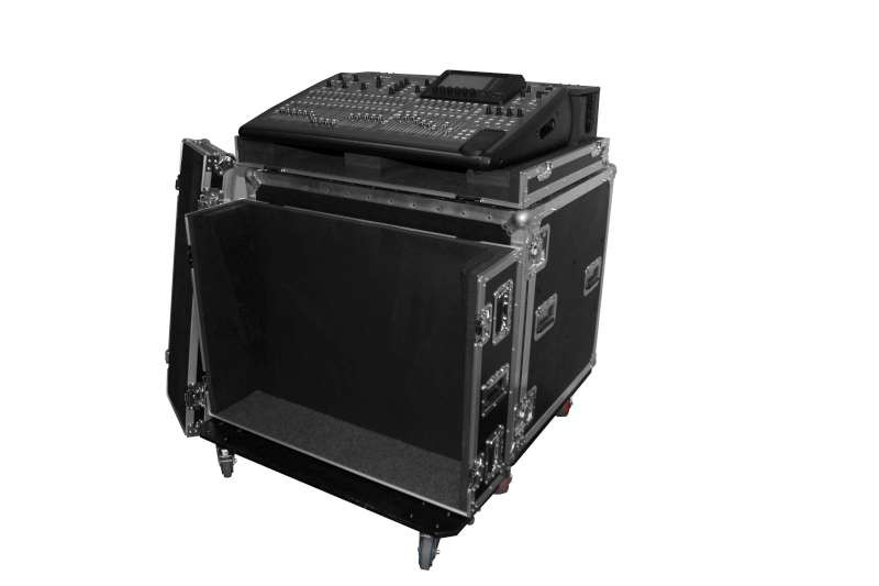 odyssey fzbehx32dhw behringer x32 mixing console case with caster plate and doghouse planet dj. Black Bedroom Furniture Sets. Home Design Ideas
