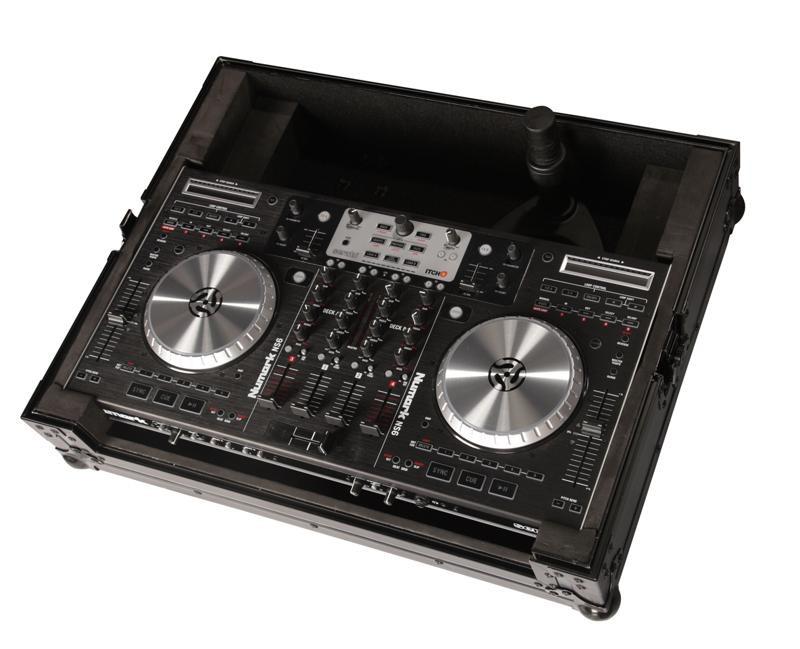 or Monitor Arm Gator Tour Series G-TOUR NS6-ARM1-PL Numark NS6 DJ Case with Adjustable 360 Degree Laptop Tablet