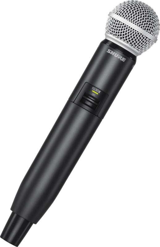 shure glxd24 sm58 handheld wireless microphone system planet dj. Black Bedroom Furniture Sets. Home Design Ideas