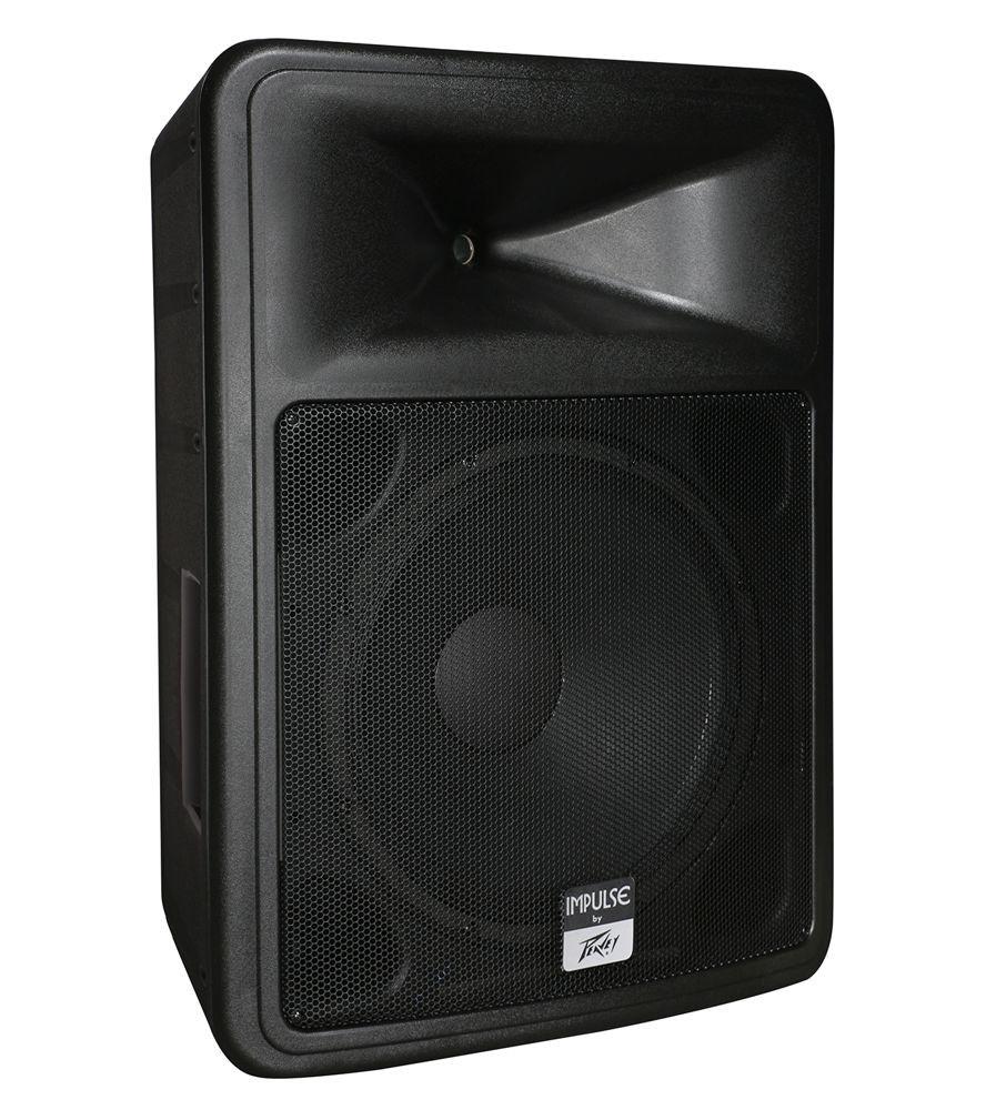 peavey impulse1015 weather resistant 15 2 way speaker 1015 black planet dj. Black Bedroom Furniture Sets. Home Design Ideas
