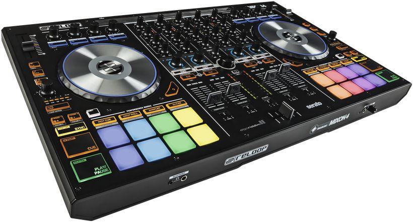 Reloop MIXON-4 4-Channel Hybrid DJ Controller