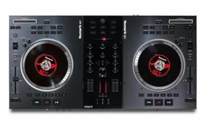 numark ns7 pro dj software controller for serato itch planet dj. Black Bedroom Furniture Sets. Home Design Ideas