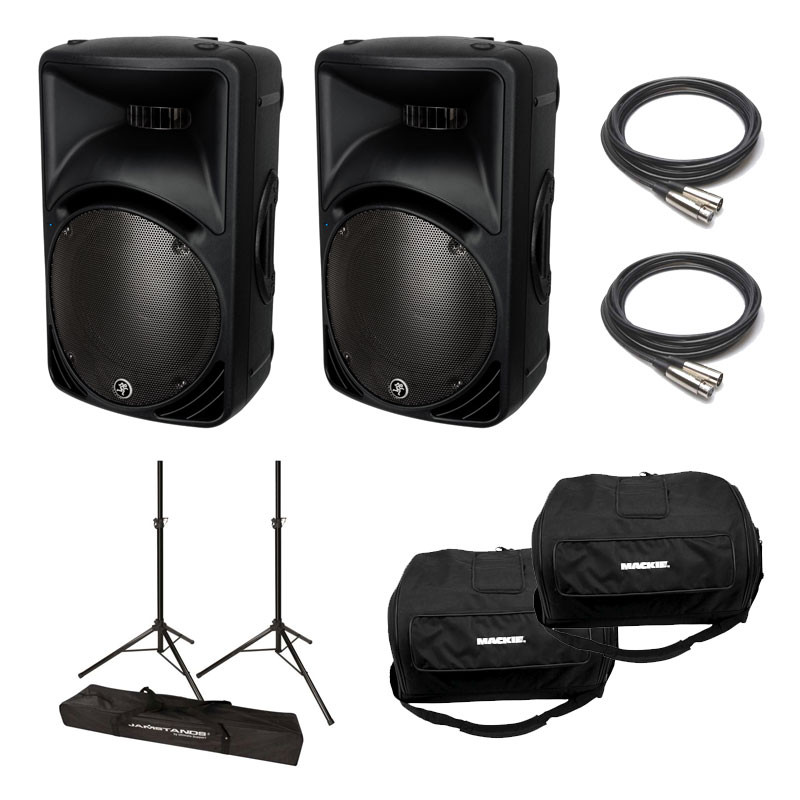 Mackie Srm450v3 Powered Speaker Package Planet Dj