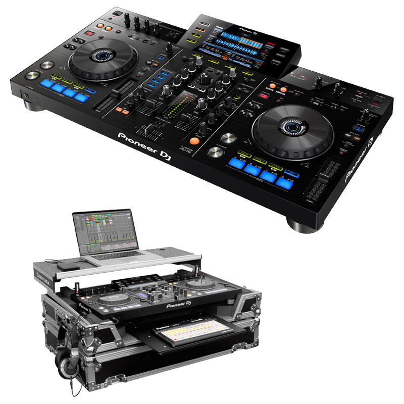 pioneer xdj rx controller and glide style case package planet dj. Black Bedroom Furniture Sets. Home Design Ideas