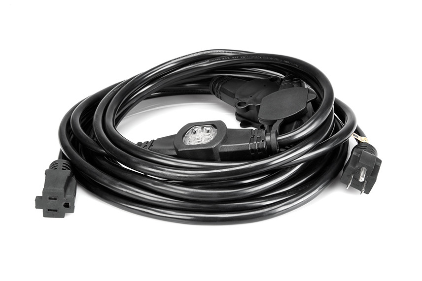 Multiple Extension Cord : Hosa pdx mox multi outlet power extension cord ga