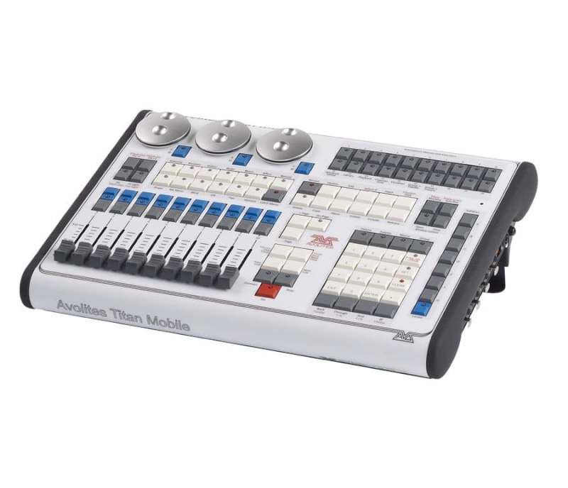 Avolites titan mobile lighting console w wing package for Console mobile