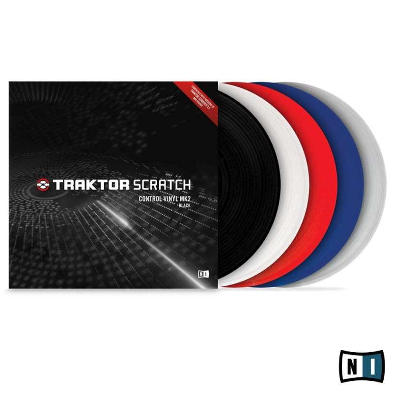native instruments traktor scratch mk2 control vinyl w timecode blue planet dj. Black Bedroom Furniture Sets. Home Design Ideas
