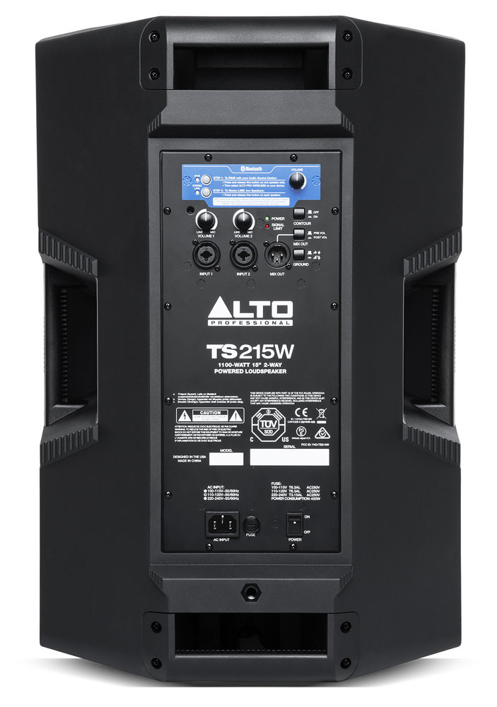 Alto Professional Ts215w Powered Speaker With Bluetooth
