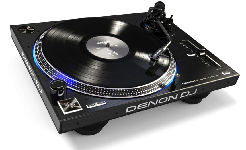 Denon Dj Vl12 High Torque Dj Turntable Planet Dj