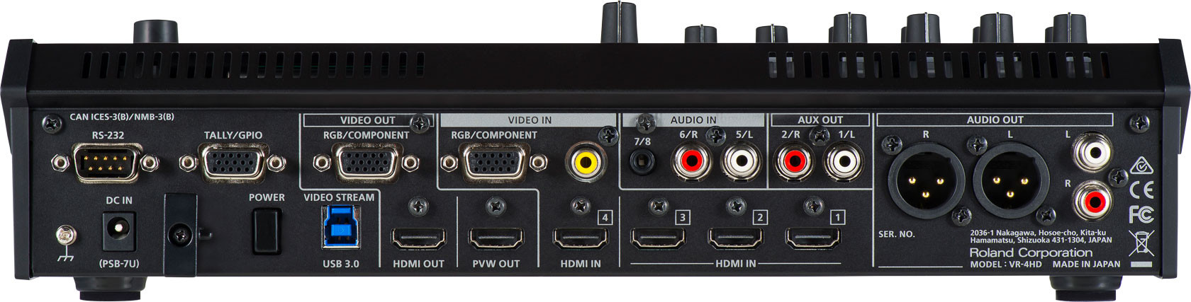 Roland Vr 4hd All In One Hd A V Mixer Planet Dj