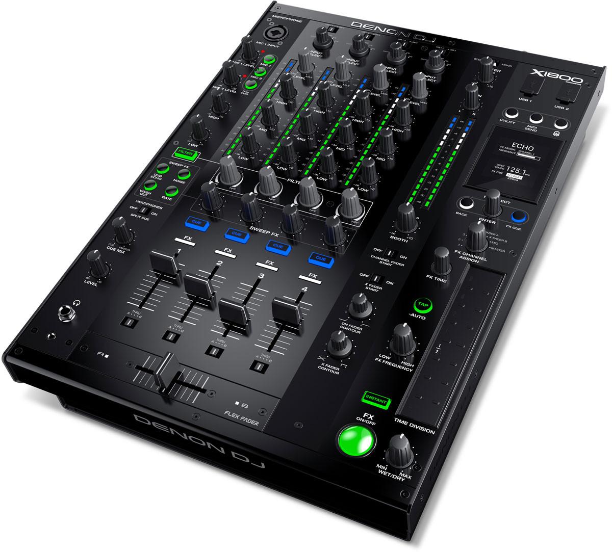Denon Dj X1800 Prime Professional 4 Channel Dj Club Mixer