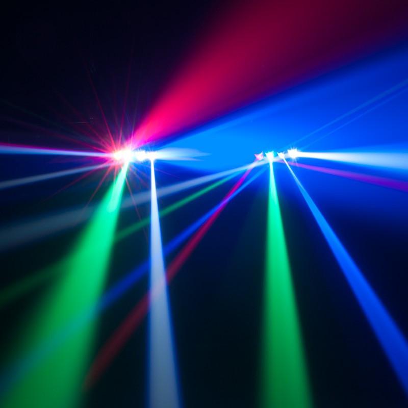 Adj Zipper Rgbw Quad Roller Effect Light Planet Dj