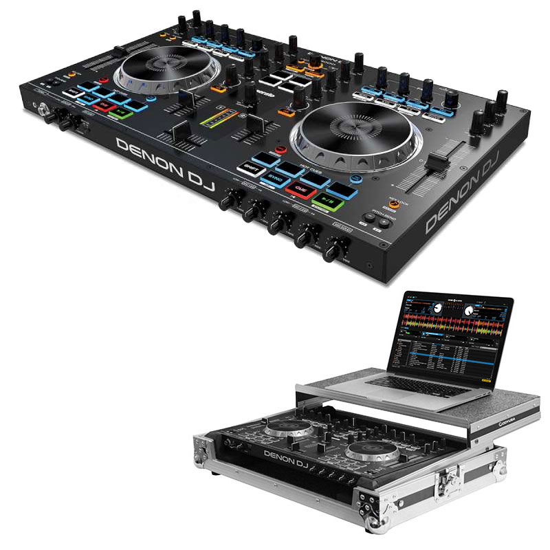 Denon DJ DN-MC4000 DJ Controller w/ Case Package