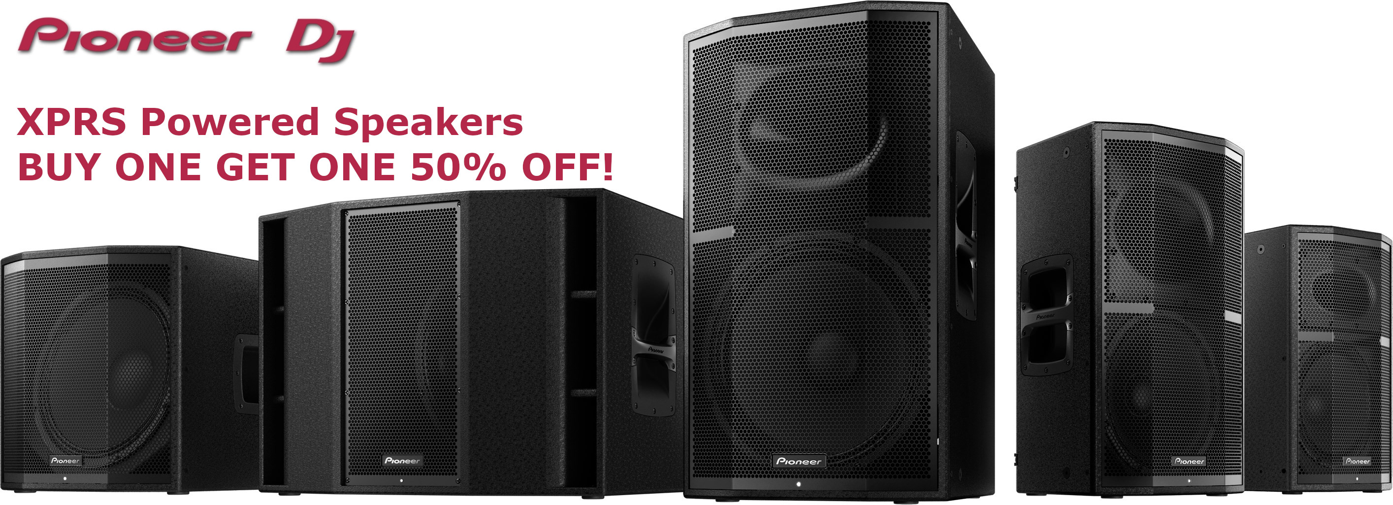 Buy one Get on half off Pioneer XPRS