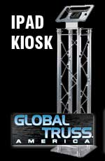 Global Truss iPad Kiosk